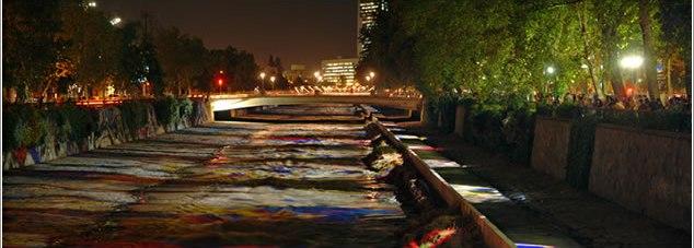 Murales de Luz, por Catalina Rojas. Foto: www.museoartedeluz.cl